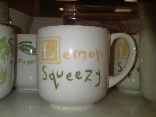 Lemon Squeezy Mug