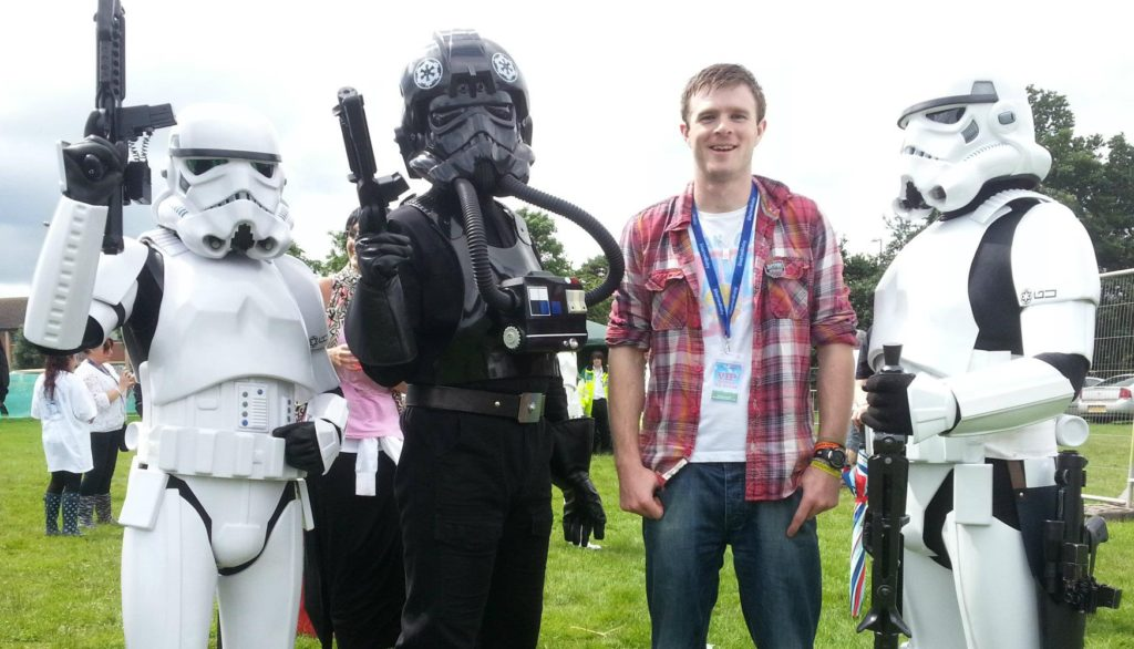 Glastonbaby Festival - Star wars invasion!